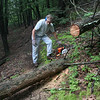 Chainsaw trip on the Minisink Trail.