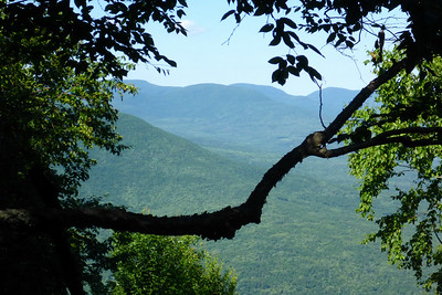 View of the Devil's Path from Mt. Pleasant (7/5/14)