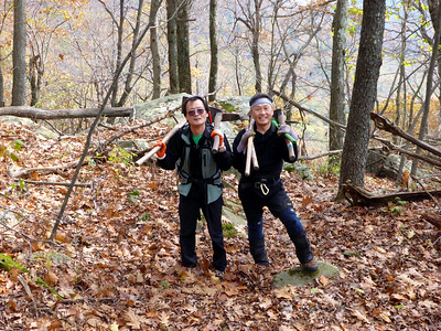 Rich and Sam, Mt. Pleasant, 10/25/14