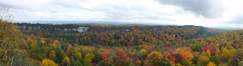 Minnewaska (10/14/14) - view from the Castle Point Carriage Road.