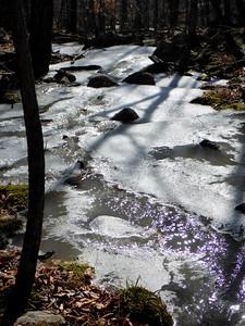 Frozen stream in Shawangunk Ridge SF - 2/18/16