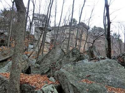 Lost City in Mohonk Preserve.
