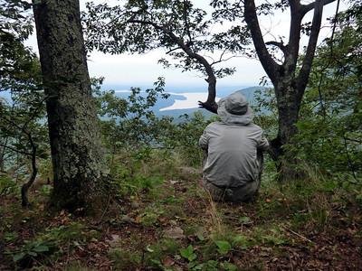 Paul overlooking the Ashoken Reservoir.