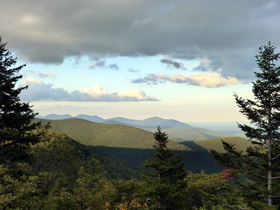 The view of the Devil's Path was spectacular on August 23.