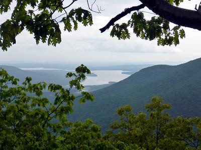 View from Cross Mtn. of the Ashoken Reservoir.