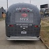 Myx Blend Bar Airstream Trailer