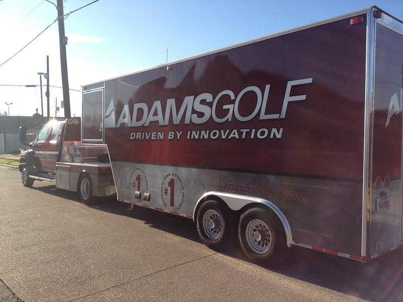 Adams Golf, Truck and Trailer, Dallas, TX