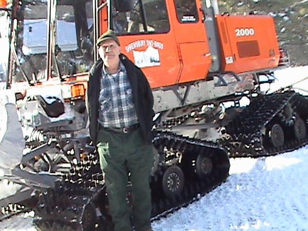 Gary Arthur in the winter season of 2010-2011