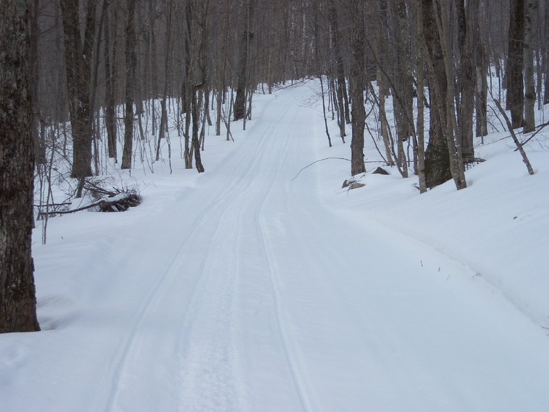 Route 4A { the upper trail } just east of intersection # RD 71.