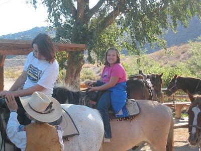 Horseback ride - Oct. 2004