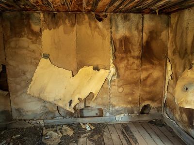 Interior of a Summitville cabin