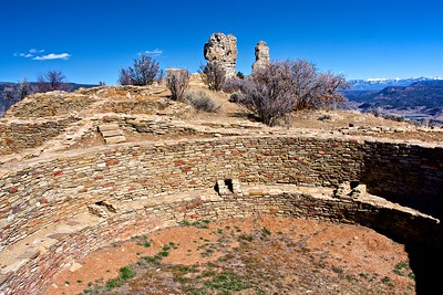 Chimney Rock Great House Kiva