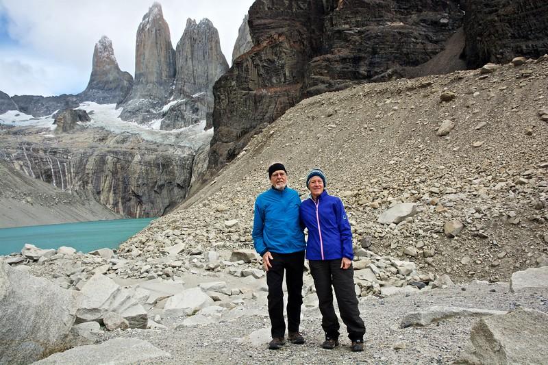 Sue and I at Mirador las Torres.
