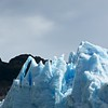 Seracs along the face of the glacier. On the boat, we were able to get close to the face of Glaciar Grey