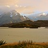 Our final morning in Torres del Paine; this is the view from our hotel