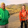 Lucho, and Paula, another outstanding local guide who helped us in Argentina.