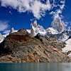 """Clouds lifting from the summit of Cerro Fitzroy, known as El Chaltén, or """"the smoking one"""" in Tehuelche"""