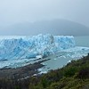 Our day trip to the Perito Mereno glacier convicted with a misty/rainy day, so the lighting was not great. Of 48 glaciers fed by the Patagonian ice field, this is one of only 3 that seems to be growing.