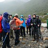 By the time we reached Lago Torre, we were getting light showers on and off. No big views today!