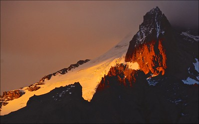 Sunrise, Cerro Eléctrico, from the Cabañas Fitzroy
