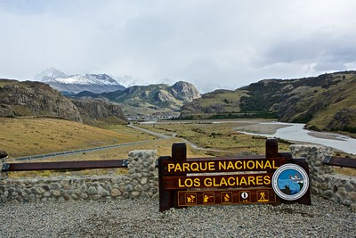 Approaching El Chaltén, the entry point for the northern portion of Los Glaciares NP