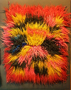 A very colorful Pre-Columbina blanket