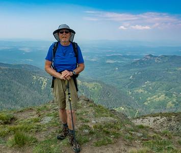 Me, atop Blackhead Peak, 12,500 ft.