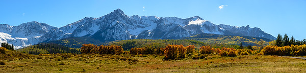 Autumn Sneffles Range panorama