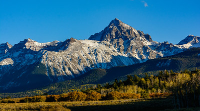Late afternoon light on the Sneffles Range.