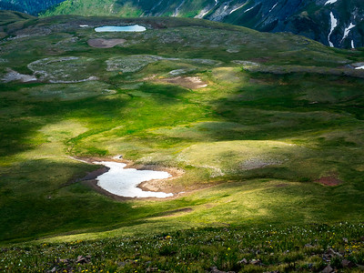 Snowfield, from Summit Peak