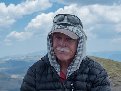 Tony on the peak.