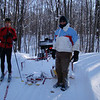 Meeting groomer Jim. Fresh track the rest of the way!