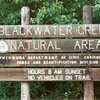 Blackwater Creek Natural Area Sign (01347)