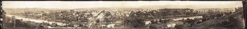 Blairsville Panorama Photo - 1912