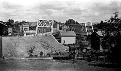 The 'New' Bairdstown Bridge