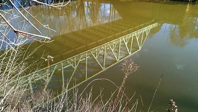 Bairdstown Bridge Reflections