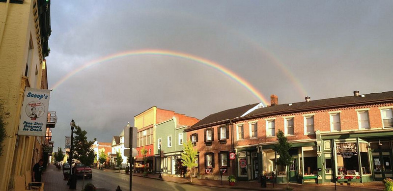 A Blairsville Double Rainbow