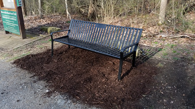 Blairsville Riverfront Trail Bench - Made in Blairsville