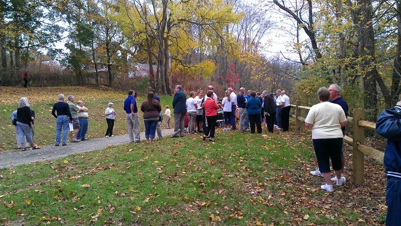 Trail Dedication Ceremony