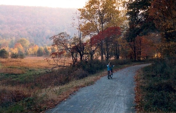 Young Rider on Fall Day