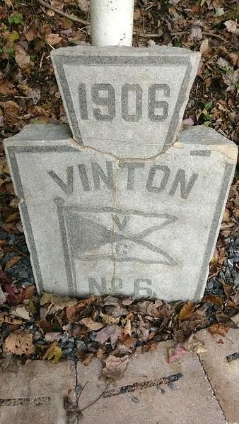 Vinton Colliery Mine #6 Marker