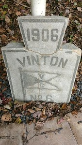 Vinton Colliery Mine #6 Marker