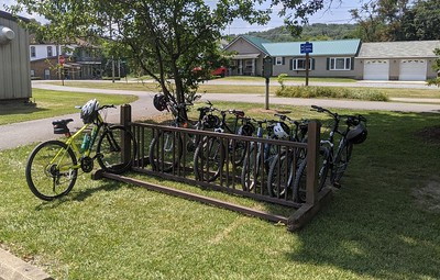 Dilltown Reststop at the Ghost Town Trail