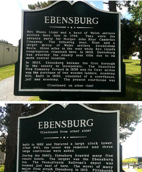 Historic Ebensburg, PA