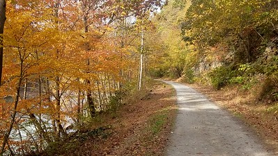 Fall Scene on the Ghost Town Trail