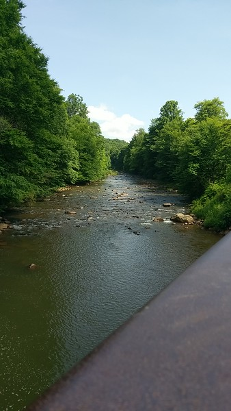 North Branch of Blacklick Creek at Red Mill Bridge