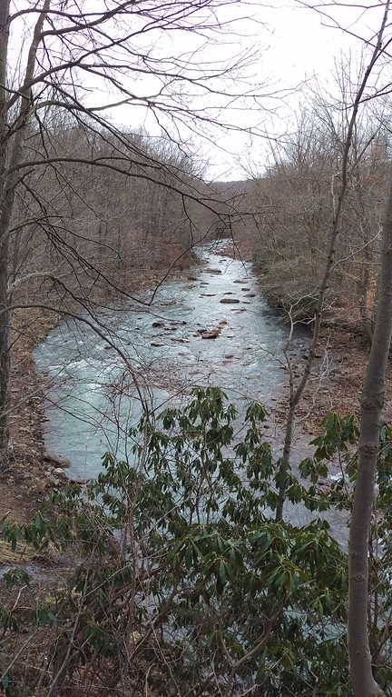South Branch of Blacklick Creek along the Ghost Town Trail