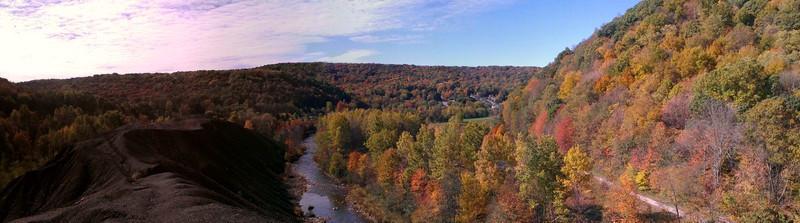 View of Nanty Glo, PA