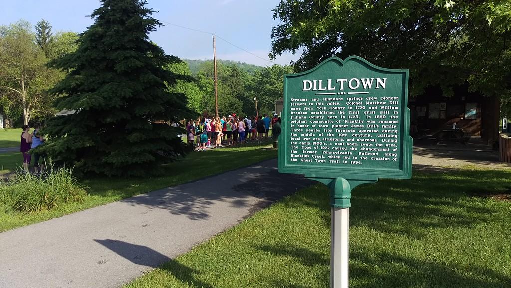 Dilltown Race Start