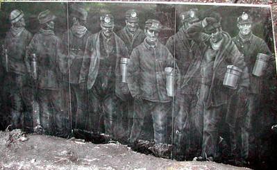Miner's Memorial at Vintondale Mine #6